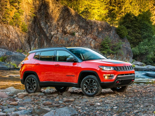 Fiat Chrysler makes the Jeep Compass at a plant in Toluca, Mexico.