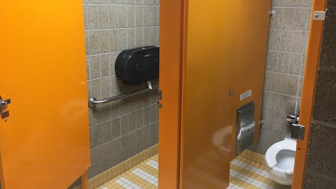 Students say USD Law School doesn't have enough women's toilets.