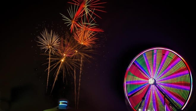 Lighting up the Hillsborough Skies: The Rotary Fair will feature a spectacular fireworks display on Friday evening, Aug.19, sponsored by Kelly Compher @Keller Williams Cornerstone.