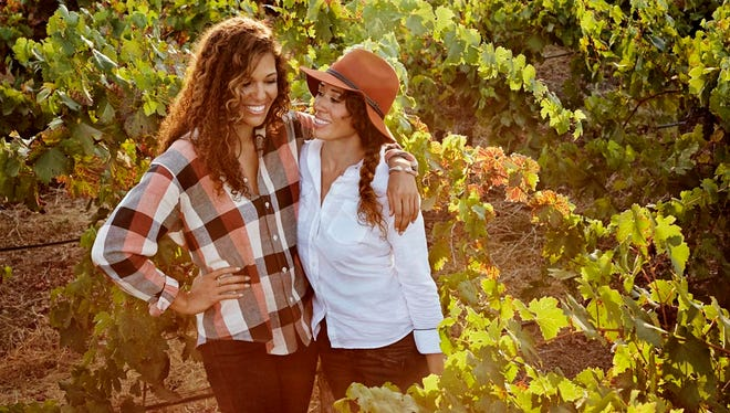 Andrea (left) and Robin McBride met for the first time at ages 16 and 26. Now successful winemakers, they knew next to nothing when they started out in the business.