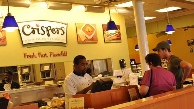 Located on Apalachee and Magnolia, Crispers serves a variety of fresh food that satisfies any hungry customer walking through the door.