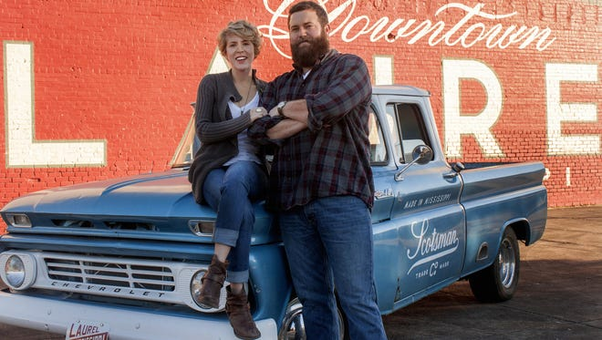 "The reality tv show ""Home Town,"" features Laurel couple Erin and Ben Napier."