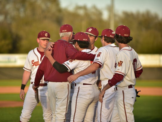 After a win over Godby on Feb. 28, Florida High baseball