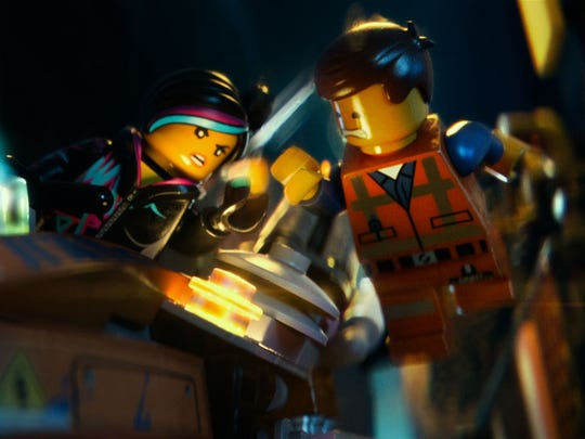 'The LEGO Movie': WyldStyle and Emmet