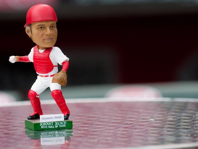 Reds Bobbleheads Throughout The Years