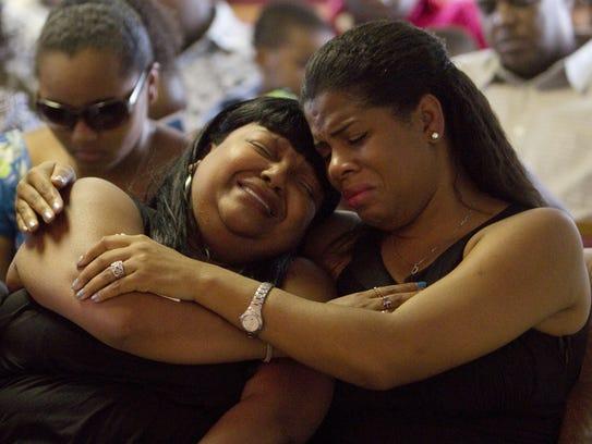 Falecha Reynolds-Jones mourns her son, Trevor Reynolds,