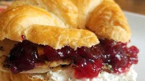 Little Gobbler Croissant Sandwiches.