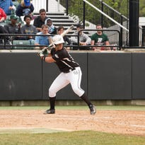 Binghamton University sophomore Jessica Rutherford set a program single-season record for runs scored (71) and ranked among the top-25 in NCAA Div. I in batting average (.441).