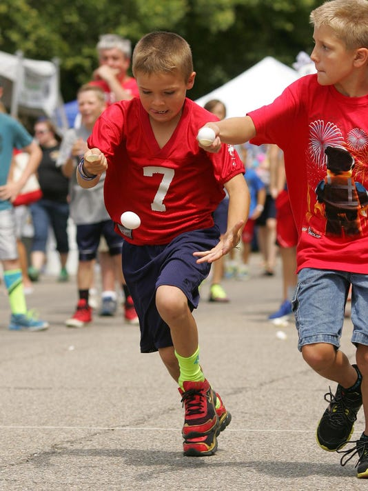 Granville Fourth of July games for all ages
