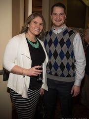 Jessica Szorc and Marcin Szorc (Photo by Jeremy Smith)