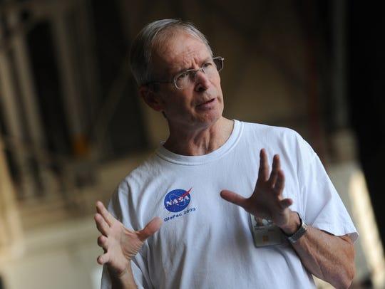 Randy Kawa, research physicist, for NASA Goddard Space