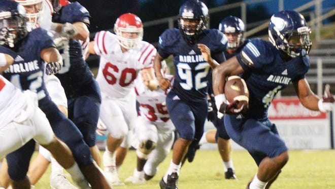 Airline's defense hopes to create turnovers against Captain Shreve on Fridiay