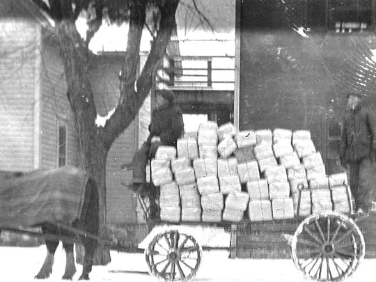 Cheese bandages were manufactured in Sheboygan Falls in what is now the Rochester Inn. Lumsden's Cheese bandage factory shipped cheese bandages all over the county to cheese factories.