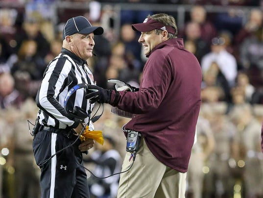 NCAA Football: Mississippi State at Texas A&M