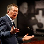 The nonprofit supporting Ohio Gov. John Kasich's presidential bid released its first fundraising total Friday.