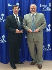 John Borelli Jr. (left) and Brian W. Jones were inducted