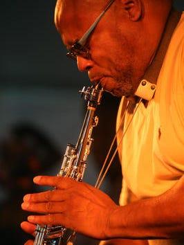 Jimmie Highsmith, Jr., plays the new Pythodd Jazz Room.