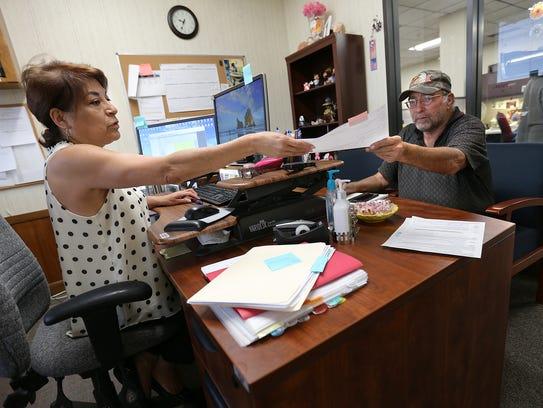 El Paso homeowner Stevan Zsako has an informal hearing