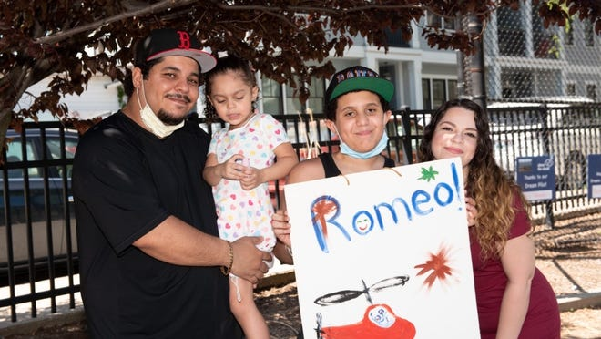Romeo and his family