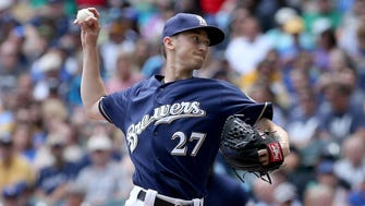 Brewers starter Zach Davies