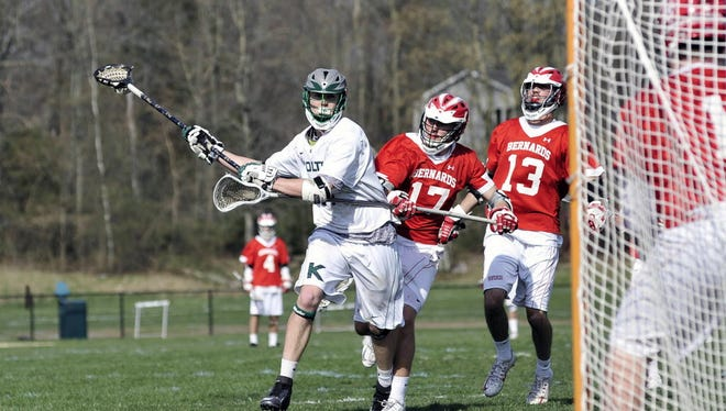 Seamus Nelson and the Kinnelon boys' lacrosse team are gearing up for the second half of the 2017 spring season.