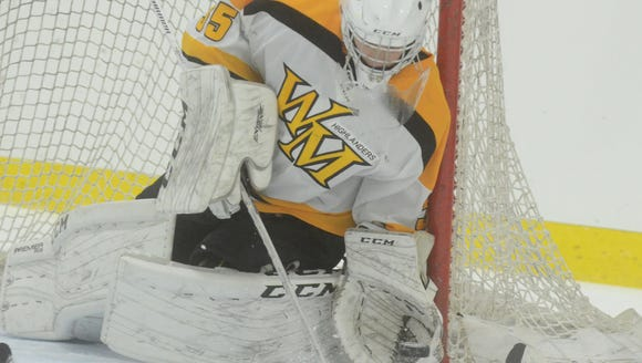 West Milford goalie Nick Johansson stopped 90 percent of the shots he faced during the first month of the North Jersey hockey season.