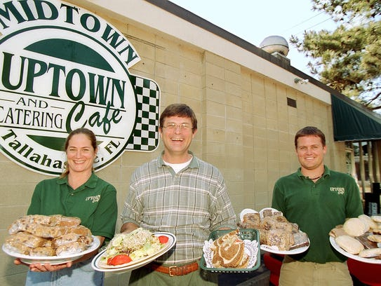 The team at Uptown Cafe, shown in this 2005 photo.