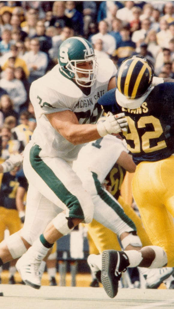 Tony Mandarich was a consensus All-American in 1988