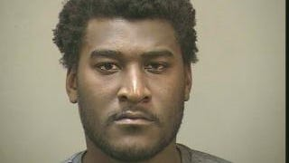 Justin Carl Blackmon police mugshot.