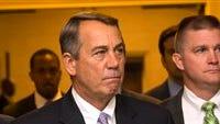 Outgoing House Speaker John Boehner of Ohio.