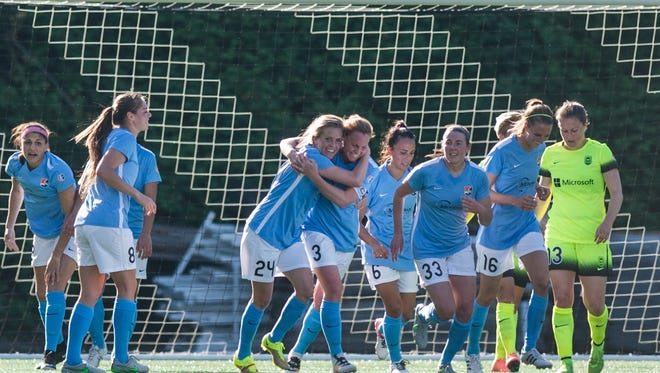The bank recently inked a two-year corporate sponsorship agreement with Sky Blue FC Soccer Team of the National Women's Soccer League.