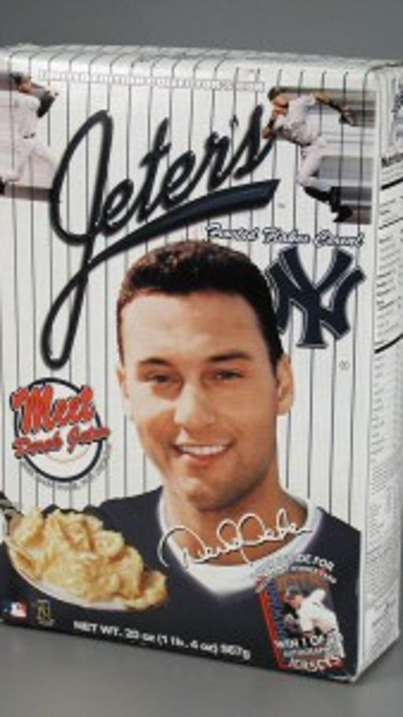 Jeter's Frosted Flakes Cereal, 2000, courtesy of The Strong, Rochester, New York.