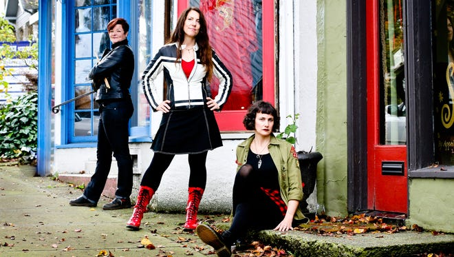 """Salem needed a chick band,"" said Jamie Sloan, drummer of the garage indie punk female trio Hot Sheets."