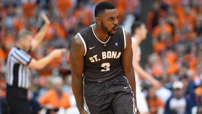 Senior shooting guard Marcus Posley is one of the veterans who has led the Bonnies to their best start in 16 years. They play in Rochester on Wednesday, March 2 against St. Joseph's.