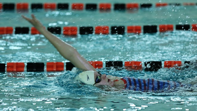 Grafton's Autumn Haebig set two state records on Friday night in the WIAA  division 2 state meet.