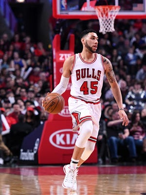Chicago Bulls guard and Michigan State graduate Denzel Valentine is undergoing offseason ankle surgery, according to the AP.