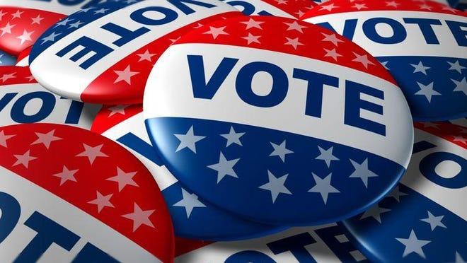 11495653 - vote badges patriotic button patriotic button badge election politics symbol