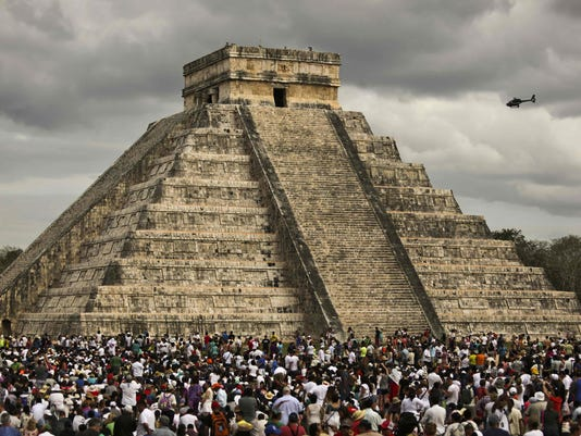 MEXICO-ARCHAEOLOGY-CHICHEN ITZA-DISCOVERY