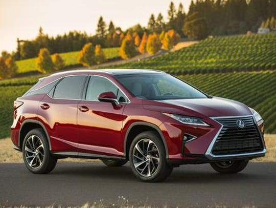 The 2019 Lexus RX 350