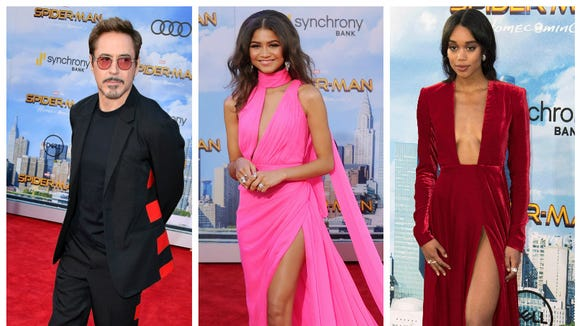 The 'Spider-Man: Homecoming' cast looked good on the