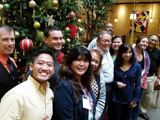 Representatives from Guam attended a DWI court training in Newport Beach, California, earlier this month.