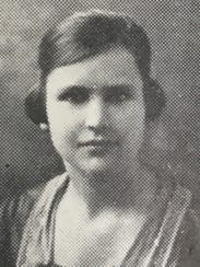 Lessie Amsler, when she was a student at Mississippi