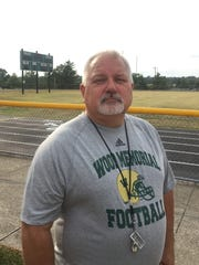 Wood Memorial coach Bret Kramer