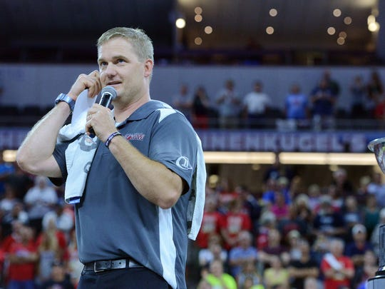 Kurtiss Riggs has led the Storm to 11 indoor football championships.