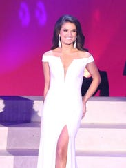 Miss Collierville, Amber Reed during night one of the
