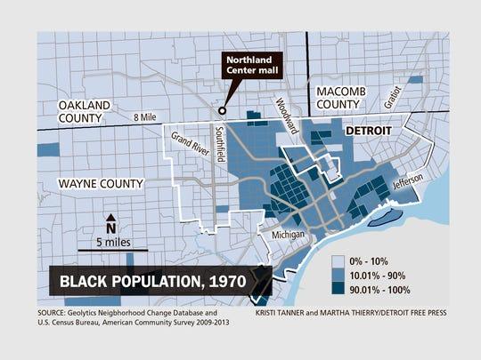 Black population, 1970