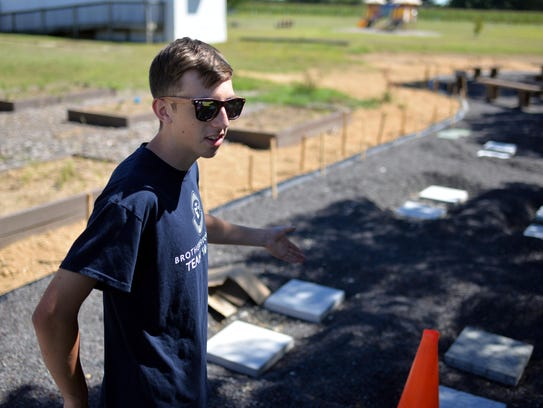 Mick Kirchman, 17, of Vineland, talks about his outdoor