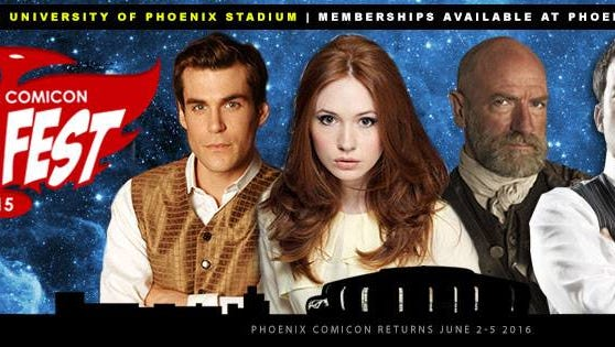 Phoenix Comicon Fan Fest will take place Dec. 4-6 at University of Phoenix Stadium in Glendale.