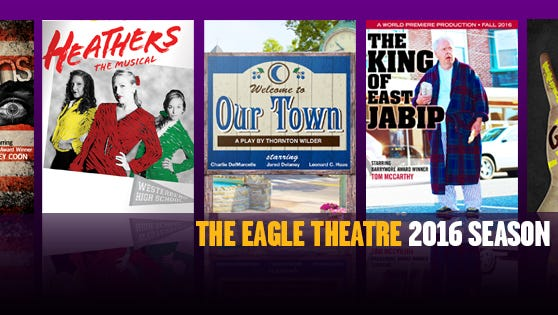 The Eagle Theatre is offering 25 percent off season passes to all five of their 2016 shows.