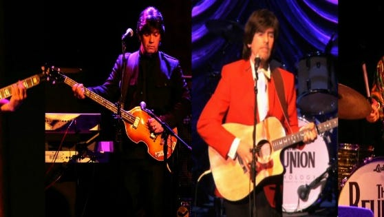 The Reunion – A Fantasy Tribute to the Beatles perform 7 p.m. Wednesday, March 23,  at the Visalia Fox Theatre.
